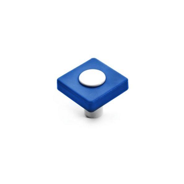 כפתור CW11.29.3531 בצבע כחול בשילוב לבן