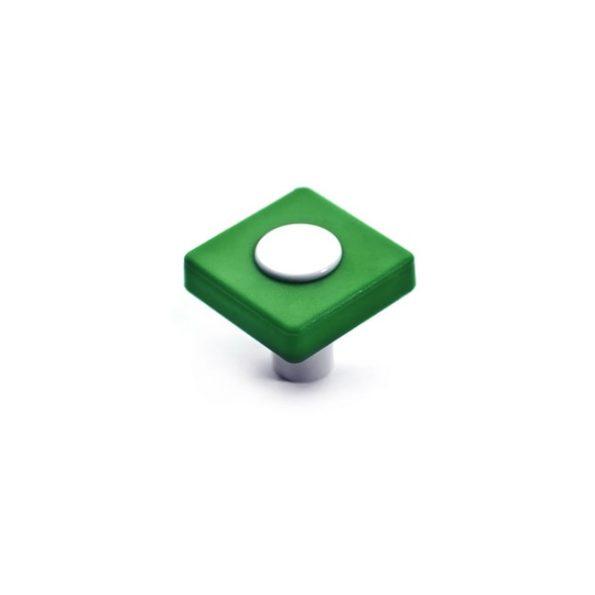 כפתור CW11.29.4231 בצבע ירוק בשילוב לבן